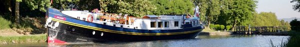 Anjodi luxury barge cruises on the Canal du Midi, Provence, France