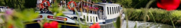 Belle Epoque luxury barge cruises in Burgundy