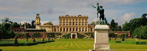 Cliveden House, on the Royal river Thames, England