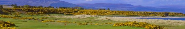Play Golf at Royal Dornoch in Scotland, GoBarging Golf charter cruises on Scottish Highlander