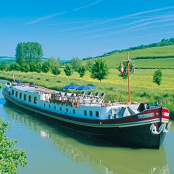 Hirondelle luxury barge cruises, Burgundy, France