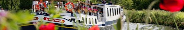 La Belle Epoque, cruises in Burgundy, along the Nivernais canal and Yonne river