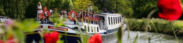 Luxury barge cruises on La Belle Epoque in Burgundy, France