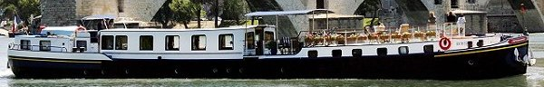 Luxury barge cruises on Impressionniste in Provence, France