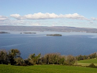 Overlooking Lough Derg, Ireland