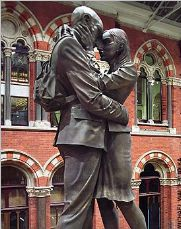 Meeting place at St pancras Station