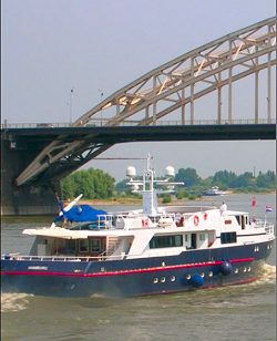 Monarch luxury motor yacht cruises, Amsterdam, Holland