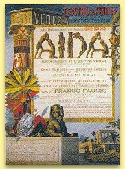 Aida at La Fenice theatre, Venice
