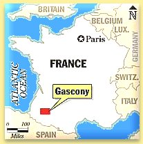 Gascony, and South West France