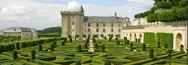 Chateau Villnadry, river Loire, France